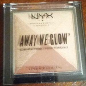 NYX Away We Glow Illuminating Powder#06BrickRoad